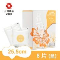 白的確幸-花語系列日用一般25.5cm (8片)